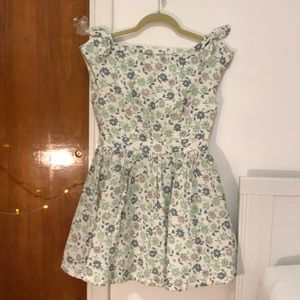 very sweet floral tea dress